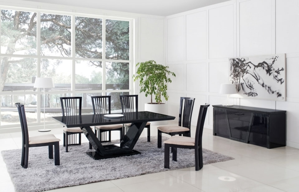 Astounding dining table desing gallery best idea home for Dining table interior design