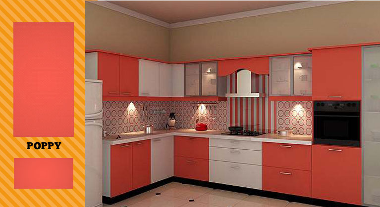 Kitchen Decor World, Acrylic Anti Scratch Modular Kitchens