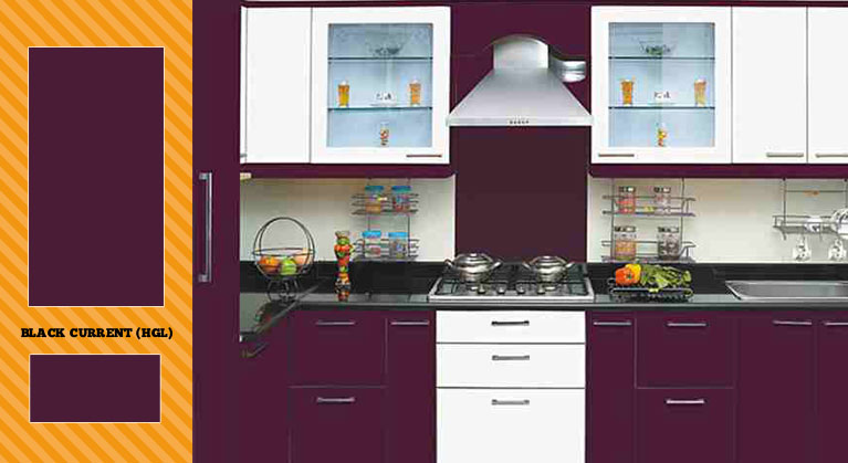 Blue And Black Kitchen Decor