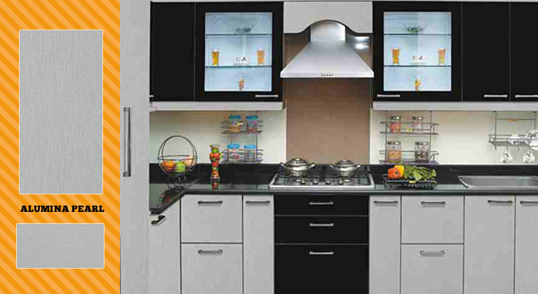 laminates designs for kitchen. Sleek Look  Durable Customized Kitchen Decor World Modular Baskets Wardrobes Shutters